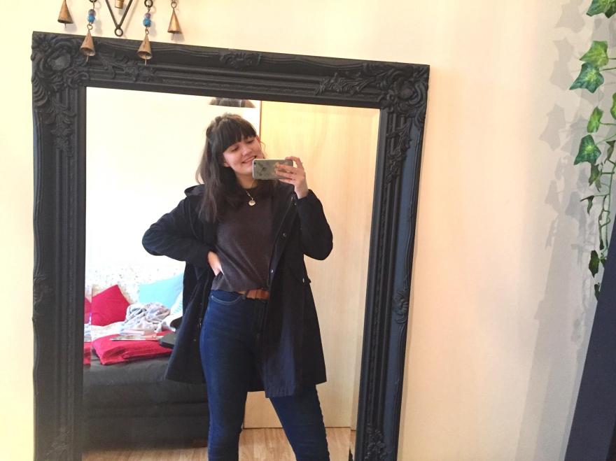 Mirro selfie